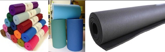Yoga mats from JivanaProps