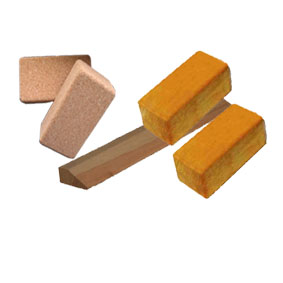 kork & wooden bricks