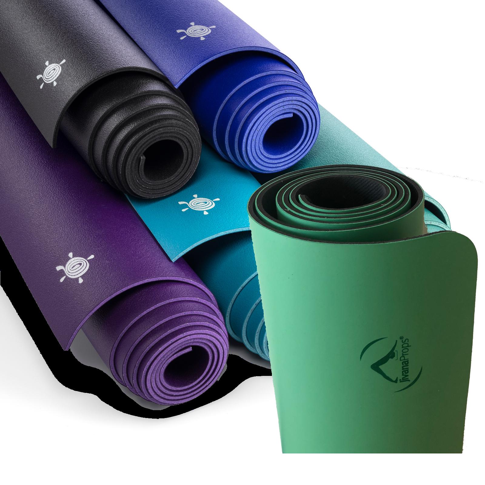 Naturgummi und PU Yoga Matten mit und ohne Design