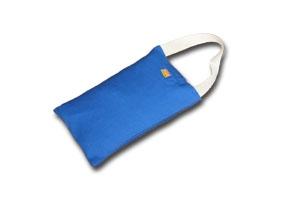 Sandsack ohne Füllung, klein blau