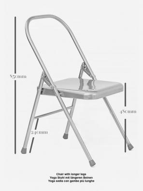 Yoga Stuhl mit längeren Beinen und Doppelgelenk