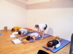 Yoga Sunday 02nd of  September 2012 in the Jivana