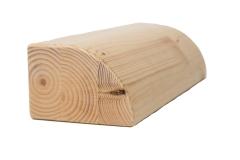 Quarterblock aus Holz
