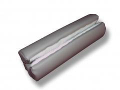 Yogamatte Standard in verschiedenen Farben; Dicke ca. 0,46 cm