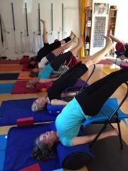 Praxis Seminar -  Üben mit  dem Yoga Stuhl