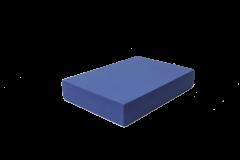 JivanaProps Flach-Schaumblock blau 5 cm dick