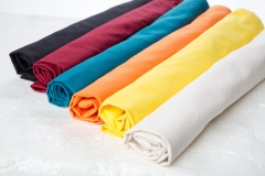 Bolster cover made of cotton twill in different color