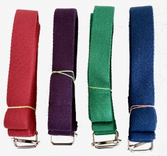 colored Yoga belt
