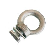 M 10 filettato occhiello per rotaia corda